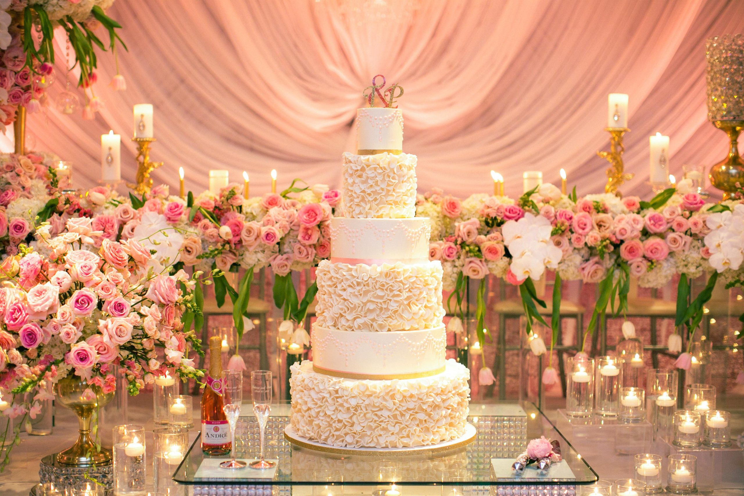 Check out this wedding blog featuring ideas that are slightly over-the-top but absolutely beautiful for weddings!